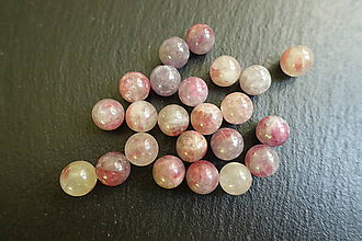 Minerály - Ružový turmalín 10mm - 6274751_