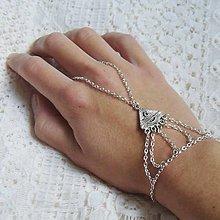 Náramky - Hand chain 11 - 6274559_