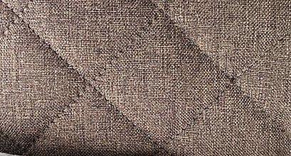 Textil - Sawana (prešitá 02 kapucíno melanž) - 6274942_