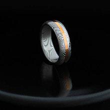 Prstene - HYMÉN Se zlatým pruhem - 6278926_