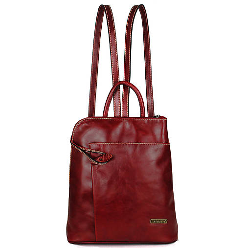 Kožený ruksak Miriam