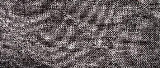 Textil - Sawana (prešitá 05 šedá melanž) - 6274946_