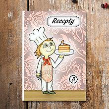Papiernictvo - Receptárik Sladký kuchárik (pomarančový rez) - 6276373_