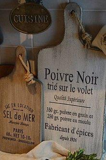 Pomôcky - Staré francúzske lopáre 2ks - 6275015_