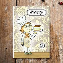 Papiernictvo - Receptárik Sladký kuchárik (krémeš) - 6281364_