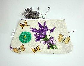 Taštičky - taštička Motýlik - 6287456_
