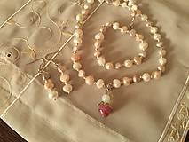 Náušnice - Náušnice z riečnych perál. - 6286251_