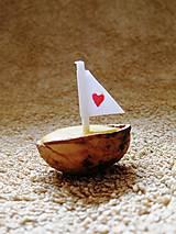 Darčeky pre svadobčanov - Svadobné loďky :) - 6284645_
