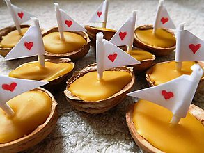 Darčeky pre svadobčanov - Svadobné loďky :) - 6284646_