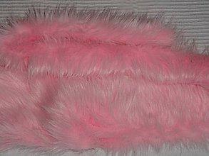 Textil - Umelá kožušinka - 6285196_