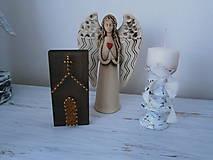 Obrázky - Kostolík na poličke... - 6286823_