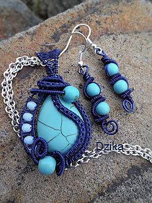 Sady šperkov - Tyrkenitová súprava -zľava - 6287360_