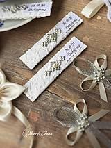 Darčeky pre svadobčanov - Svadobné žuvačky - 6290230_