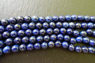 Minerály - Lapis Lazuli 6 mm - 6289470_