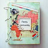 Papiernictvo - zápisky cestovateľky - 6291884_