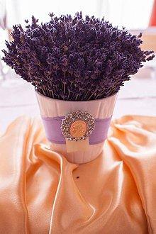 Dekorácie - Levanduľka na svadbe... - 6288894_