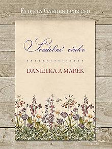 Papiernictvo - Etiketa Garden - 6290413_