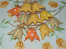 Dekorácie - Tulipány - žlté a oranžové - 6287712_