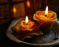 Svietidlá a sviečky - Kvety - 6290567_