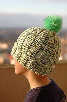 Detské čiapky - ...lebo aj vodníkom zima býva... - 6295118_