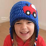 Detské čiapky - Zimná ušianka...