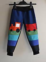 Detské oblečenie - detské Softshellové nohavice - 6296222_