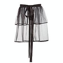 Sukne - Organzová sukňa - čierna (S-XXL) - 6292752_
