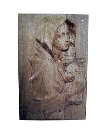 Dekorácie - Mária a Ježiško - 6295358_