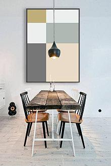Grafika - Colour boxes / tištěná ilustrace - 6292369_