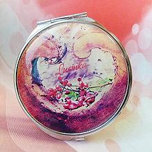 Zrkadielka - zrkadielko Zo srdca ♥ - text na želanie - 6295828_