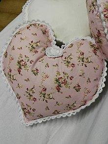 Úžitkový textil - valentínske vankúšiky - 6295627_