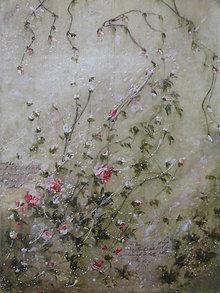 Obrazy - Romantické ruže - 6293263_