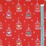 Textil - Vtáčiková - vzor 52 - 6300042_
