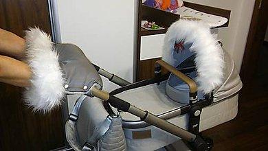 Textil - Kožušinová súprava - 6299984_