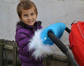 Detské doplnky - Rukávnik s kožušinkou - 6300915_