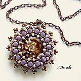 Korálkový náhrdelník 589-0025b