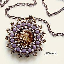 Náhrdelníky - Korálkový náhrdelník 589-0025b - 6300465_
