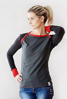 Tričká - Černé tričko - vyberte si svou barvu!! - 6297345_