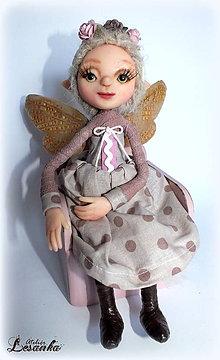Bábiky - ♥ Víla Bohumilka ♥ - 6300946_