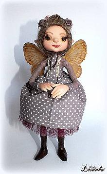 Bábiky - ♥ Víla Ľudmilka ♥ - 6301008_