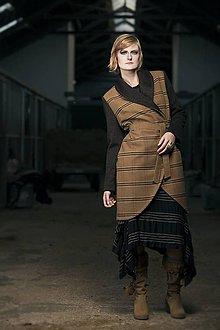 Kabáty - ZĽAVA Vlnený kabát TARA (M) - 6297805_