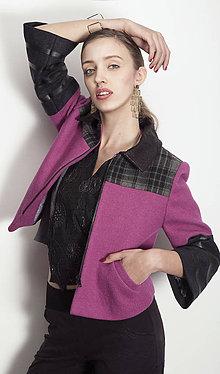 Kabáty - Vlnený kabátik TYNA - S/M - 6298345_