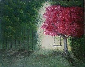 Obrazy - Nádych lesnej samoty - 6298805_