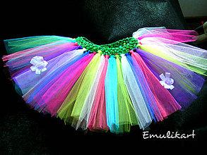 6679102f3bd3 Detské oblečenie - Pani Klaunová tutu sukňa kostým na karneval - 6296827