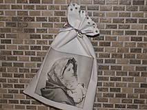 Úžitkový textil - Bavlnené vrecúško - 6299476_