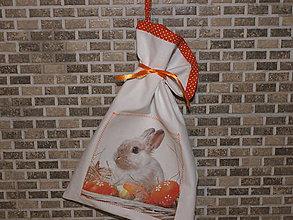 Úžitkový textil - ...veľkonočný zajko... - 6299491_