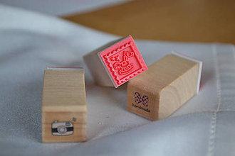 Pomôcky/Nástroje - Sada drevených pečiatok - fotenie, 3,50€/3ks - 6296800_