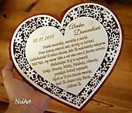 Tabuľky - Srdce blahoželanie - 6304120_