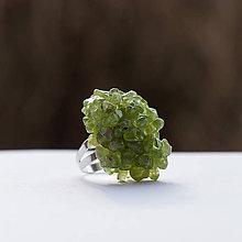 Prstene - Olivinový prsteň - 6303847_