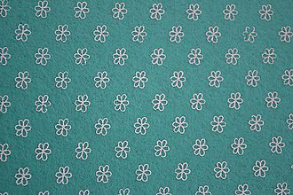Textil - Dekoračný filc - kvietok - 6301725_
